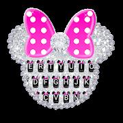 Diamond Pink Minnies Keyboard 1.0