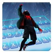 Spider Man Miles Keyboard Theme 1.0