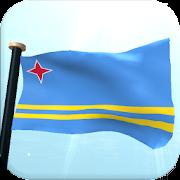 Aruba Flag 3D Free Wallpaper 1.23