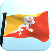 Bhutan Flag 3D Live WallpaperI Like My Country - FlagPersonalization 1.2