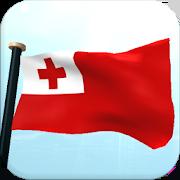 Tonga Flag 3D Free Wallpaper 1.23