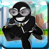 Agent Escape Stickman Run 1.02