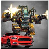 Flying Robot: Car Transformer War 2017 1.0