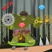 Green Skater Incredible hero 1.0