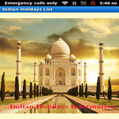 Indian holidays and festivals