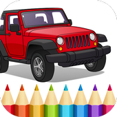 American Cars Coloring Book 1.7