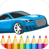 Best Cars Coloring Book Game 1.12