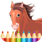 Horse Coloring Pages 1.8
