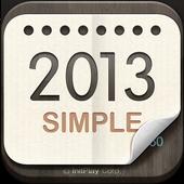 탁상달력 2013 : 심플 (위젯) 1.5