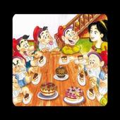 Snow White, a children's story