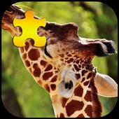 Giraffe Jigsaw Puzzles Game 1