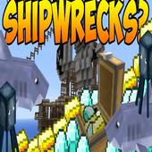 Shipwrecks Mod for MCPE 1.0