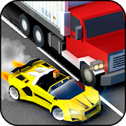 Blocky Speed Racing: Highway Traffic Racer 1.0
