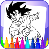 Coloring Book for dragon ball 1.0