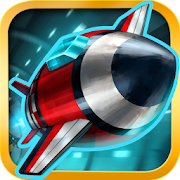 Tunnel Trouble - Space Jet 3D GamesGlowNightCasual