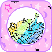 Fruit Kawaii Coloring Book for Adults Free 1.0
