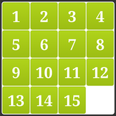 15 Numbers Puzzle 1.6