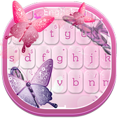 Pink Butterflies Keyboard 3.0.8