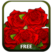 Roses GO KeyboardAmazing Keyboard ThemesPersonalization