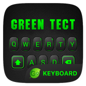 Green Tect Go Keyboard Theme 4.5