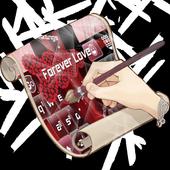 Forever Love Keyboard Skin 3.0