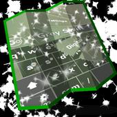 Grey Swift Keyboard Design 1.3 Lime
