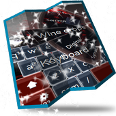 Wine drops Keyboard Design