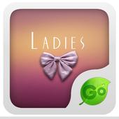 GO Keyboard Ladies theme 3.2