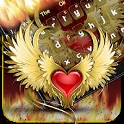 Red Heart Flame Keyboard ❤️ 1.0