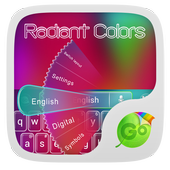 Radiant Colors Keyboard Theme 1.188.1.85