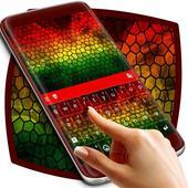 Abstract Mosaic Keyboard 1.279.13.79