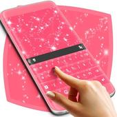 Pink Sparkle Keyboard Theme 1.279.13.94