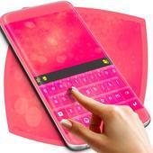 Latest Pink Keyboard Theme 1.279.13.89