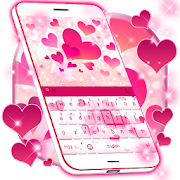 Pink Love KeyboardTimmy Theme LabPersonalization