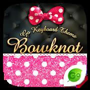 Bowknot GO Keyboard Theme 4.5