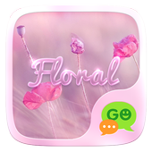 (FREE) GO SMS FLORAL THEME 3.3.1