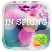 (FREE) GO SMS IN SPRING THEME 1.6.60