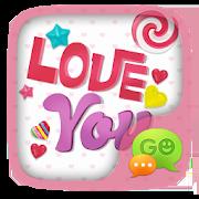 (FREE) GO SMS LOVE YOU THEME 1.60