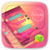 (FREE) GO SMS SIMPLE THEME 3.3.1