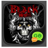 (FREE) GOSMS BLACK NIGHT THEME 1.1