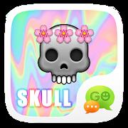 (FREE) GO SMS SKULL STICKER 3.0.11