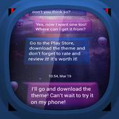 Galaxy for GO SMS 2.9.9
