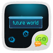 GO SMS PRO FUTUREWORLD THEME 1.0