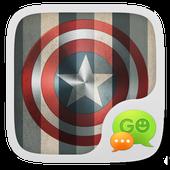 GO SMS PRO SUPERHERO THEME 1.0