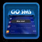 Blue start SMS Art 1.3