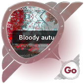 Bloody autumn GO SMS 1.0.2
