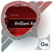 Brilliant Red GO SMS 1.0.0