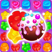 Jelly Crush ManiaMatch 3 Fun Candy GameCasual
