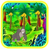 com.jgut.jungle.gorillabananarun icon