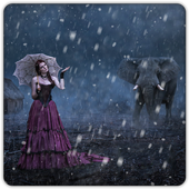 Live Rain Snow Photo Frames 1.2